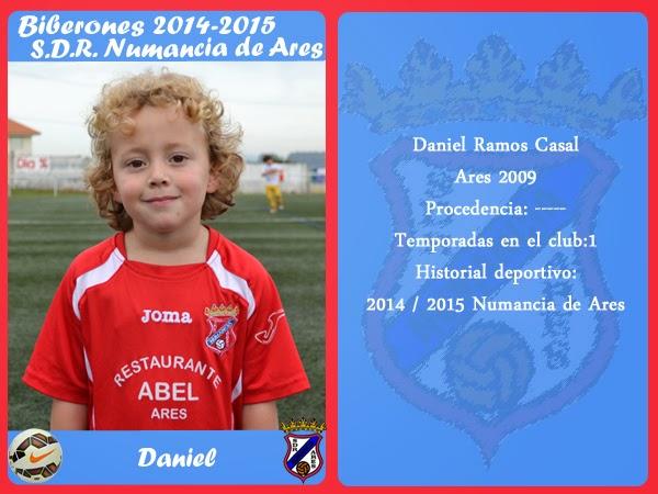 ADR Numancia de Ares. DANIEL