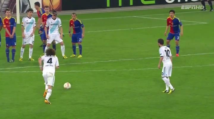 Luiz, Basel - Chelsea