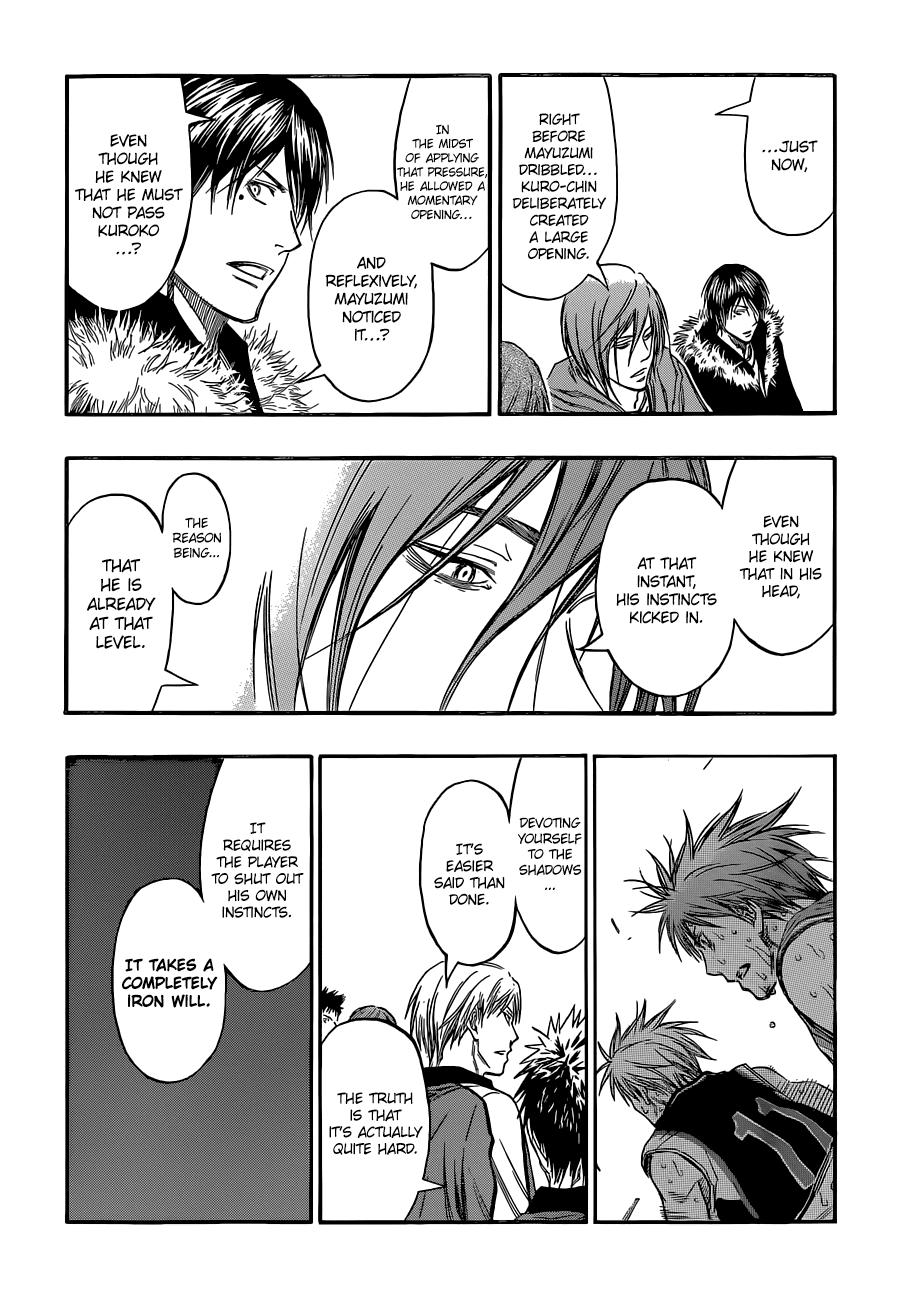 Kuroko no Basket Manga Chapter 250 - Image 17