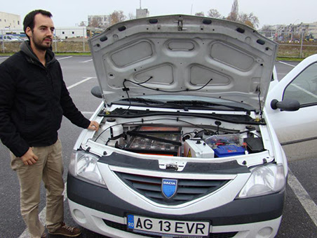 Dacia Logan Electric Dacia Logan cu motor electric