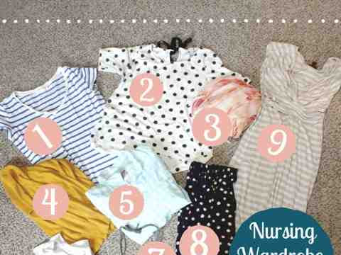 Nursing Wardrobe Essentials