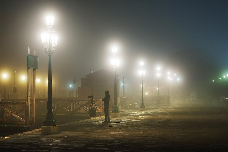 жду пока туман сползет