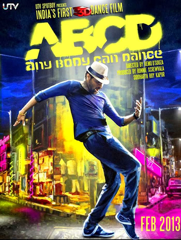 Poster Of Hindi Movie ABCD - Any Body Can Dance (2013) Free Download Full New Hindi Movie Watch Online At Alldownloads4u.Com