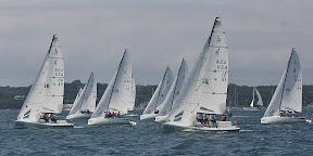 J/70 one-design speedsters- sailing off start