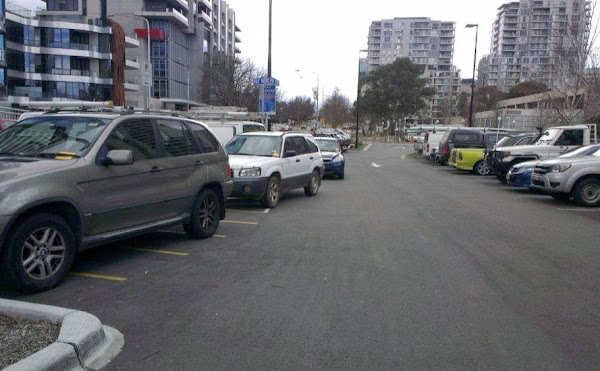parking in acton
