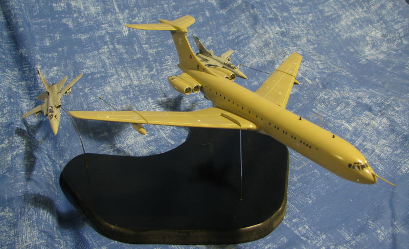 Airfix VC10 and Dragon Tornado F3s