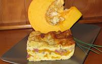 Lasagnes automnales aux châtaignes, potiron et canard-recette indexée dans les Légumes