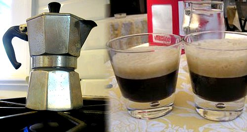 How to Make Iced Espresso or Caffe Shakerato Recipe