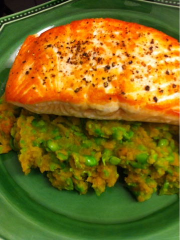 how to prepare and cook salmon steaks