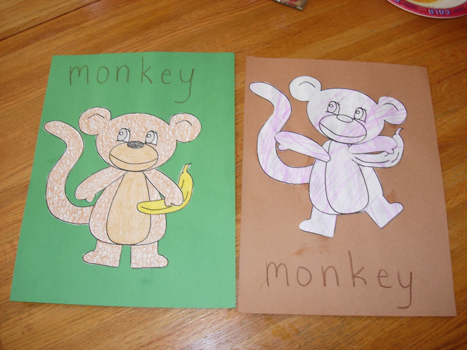 lil u0027 sprouts preschool m is for monkey
