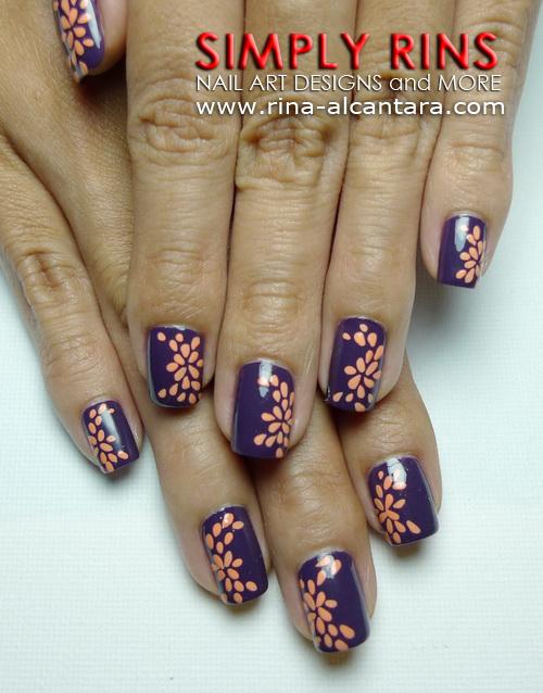 Something Peachy Nail Art Design