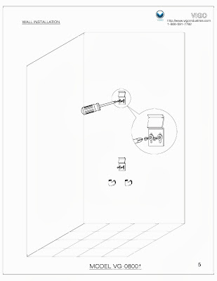 Limited Access Water Supply To Shower Panel