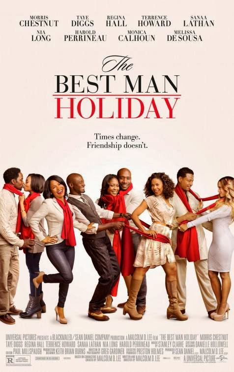 Poster Of English Movie The Best Man Holiday (2013) Free Download Full New Hollywood Movie Watch Online At Alldownloads4u.Com