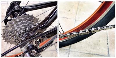 Bicicleta, Cadena y Piñones limpios