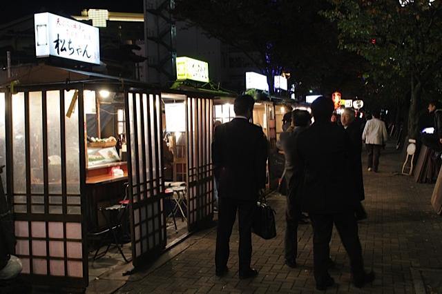 yatai stalls fukuoka, yatai stalls japan
