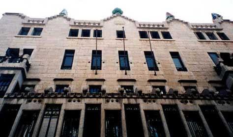 """Gaudí, Palacio Güell"""" width="""