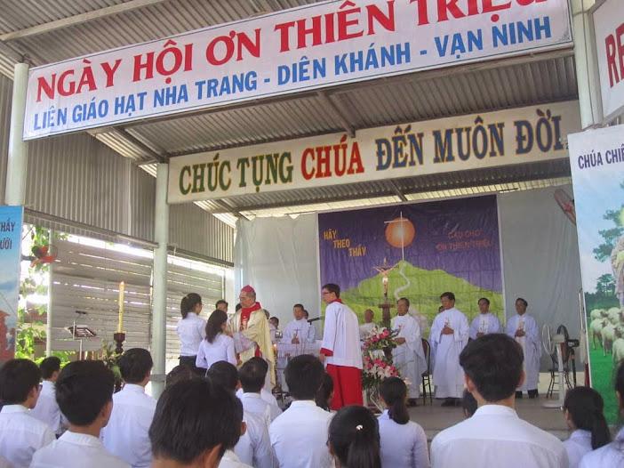 Khiết Tâm Tham Dự Ngày Hội Ơn Thiên Triệu Liên Giáo Hạt Vạn Ninh - Diên Khánh - Nha Trang