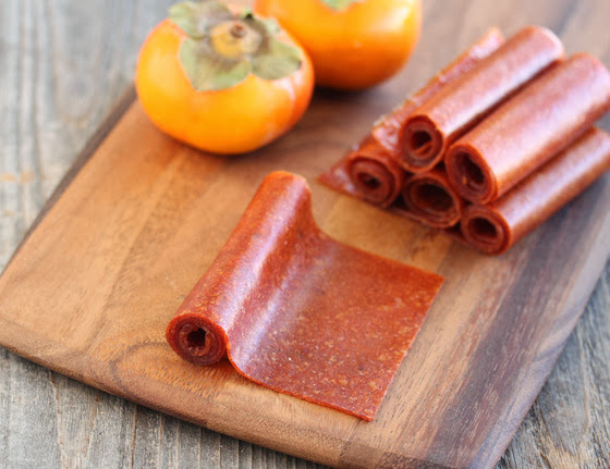 ... like making persimmon fruit leather the fruit is so sweet that you
