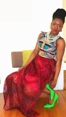 ankara dresses, maroon