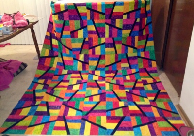 Cre8tive Quilter: Noodle in a Haystack : 1600 quilts - Adamdwight.com