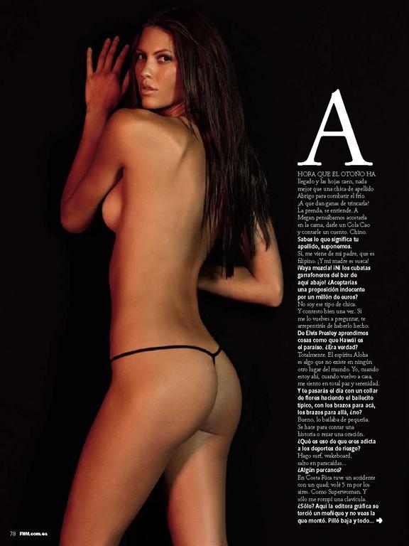 Nude Pics Of Megan Abrigo 79