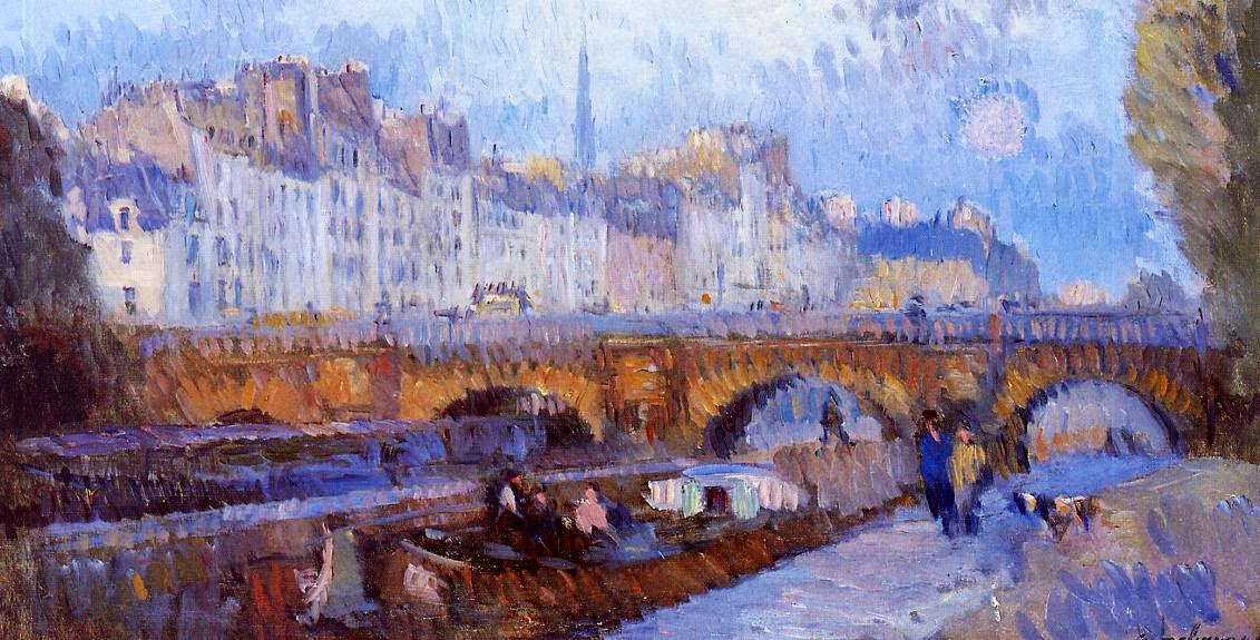 Albert Lebourg - The Pont Neuf and the Monnaie Lock