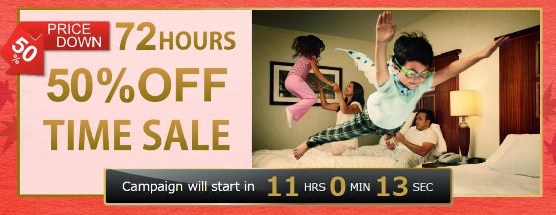 Hilton希爾頓旗下日韓酒店促銷,限時72小時,今日下午1時開賣!