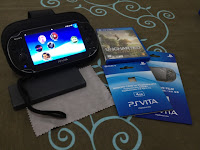 PS Vita Game Card Case, Cleaning Cloth, Uncharted, Memory Card