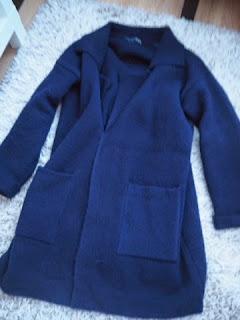 sininen, blue, navy, takki, coat, wool coat, neuletakki, villakangastakki, berliini, souvenirs, wool, cardigan, blue, berlin, germany, shopping, primark, ostokset