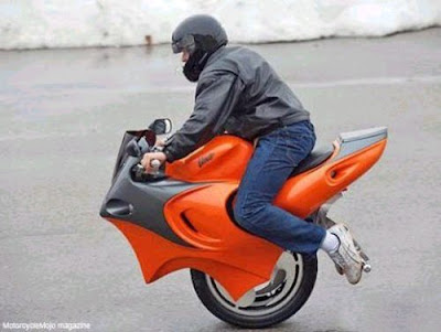 Front whealer bike