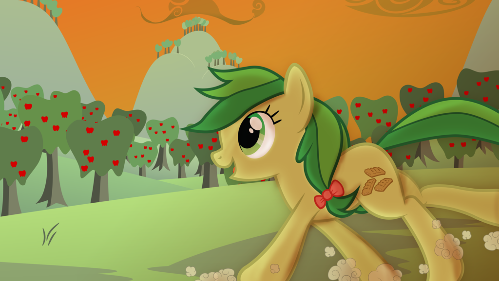 My little pony apple fritter - photo#43