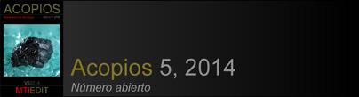 Acopios 5, 2014