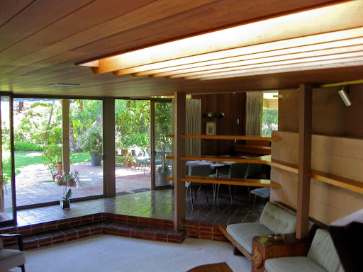 Semprol Design Mid Century Modern Sunken Living Room