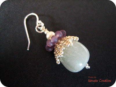 Tinkerbell Earrings by Namaste Creations