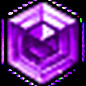 璀璨星芒紫寶石