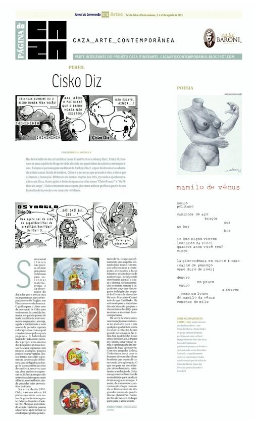 Página da Caza - 03 de Agosto de 2012