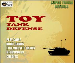 玩具坦克塔防