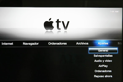 Apple TV navegación
