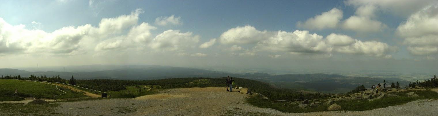 Вид с горы Броккен