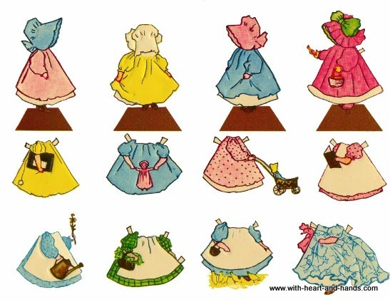 Michele Bilyeu Creates With Heart And Hands Sunbonnet Sue Free Simple Sunbonnet Sue Patterns