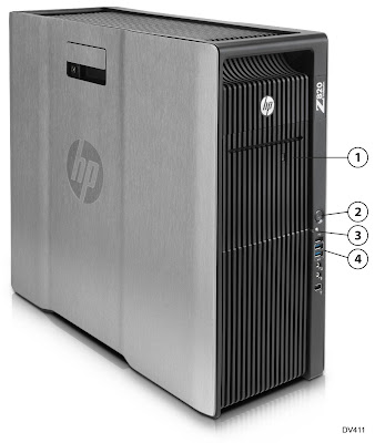 HP Z820 Workstation - DV411