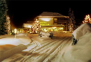 l'hotel Brugger am See en hiver