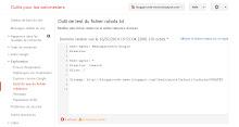 Le fichier robots.txt sur Outils pour webmasters