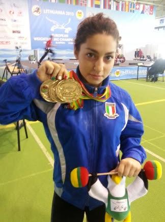 BOTTINO RECORD PER L'ITALIA DEI PESI AI CAMPIONATI EUROPEI UNDER15 E UNDER17