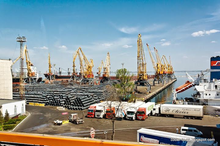 одесса.морской порт
