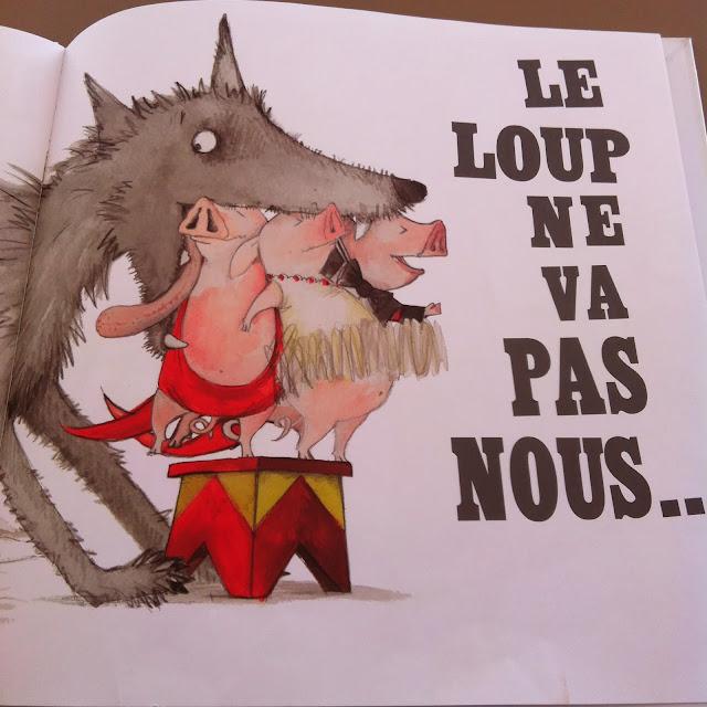 LIVRES ENFANTS: Le loup ne nous mangera pas! (Chut! Les