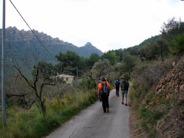 Senderismo - Agujas de Santa Agueda - Font de Roc