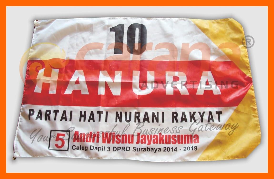 Pemesanan Bendera Partai Hanura