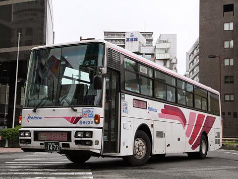 西日本鉄道「させぼ号」ハウステンボス系統 9623