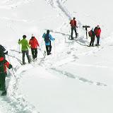 Schneeschuhwanderung zur Lifi Alm am 04.01.09
